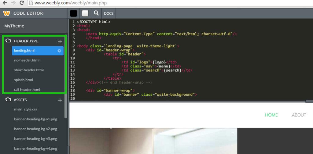 Translating Weebly Sites