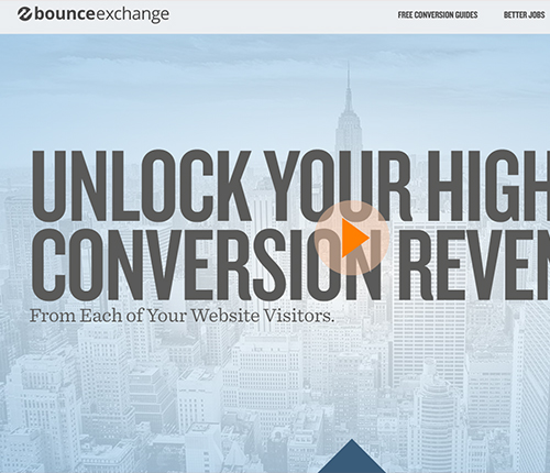 Bounce Exchange Growth Hacking Tool