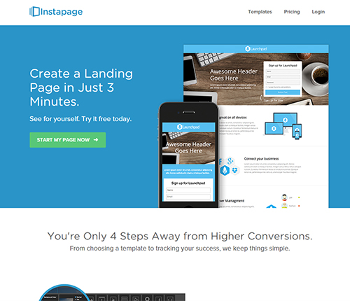 Instapage Growth Hacking Tool