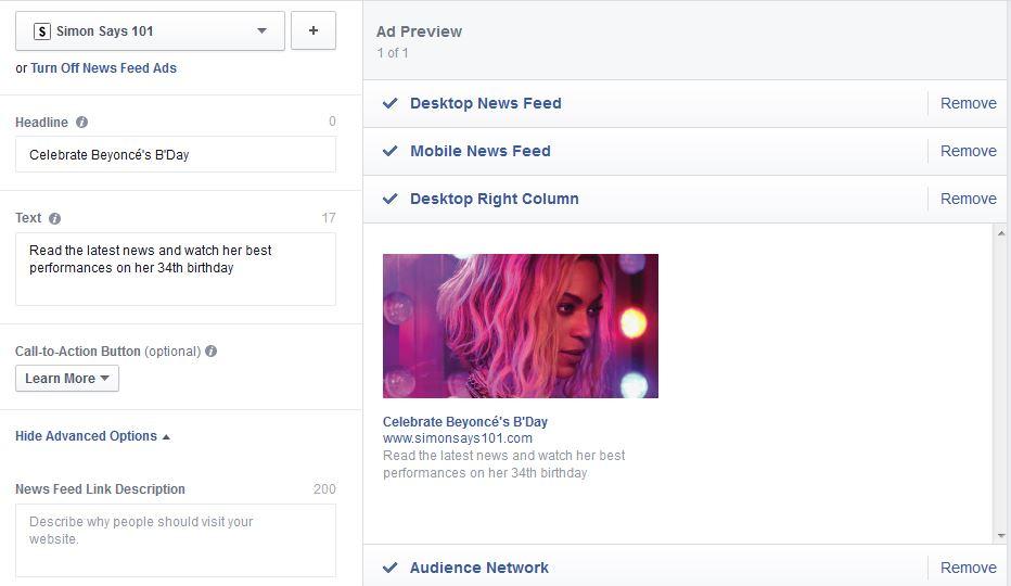 Tutorial Facebook Ads