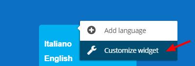 Customize widget - Bablic Visual Editor