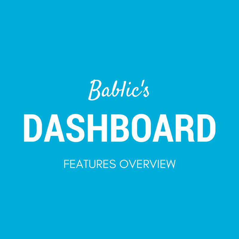 Bablic Dashboard - Features Overview