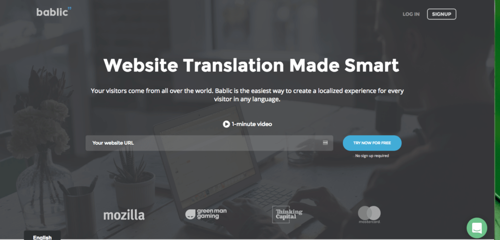 Bablic website translation platform