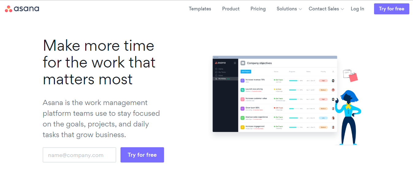Asana- Project Management Software