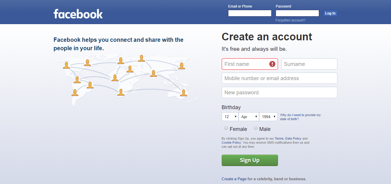 Facebook : Social Media Platform